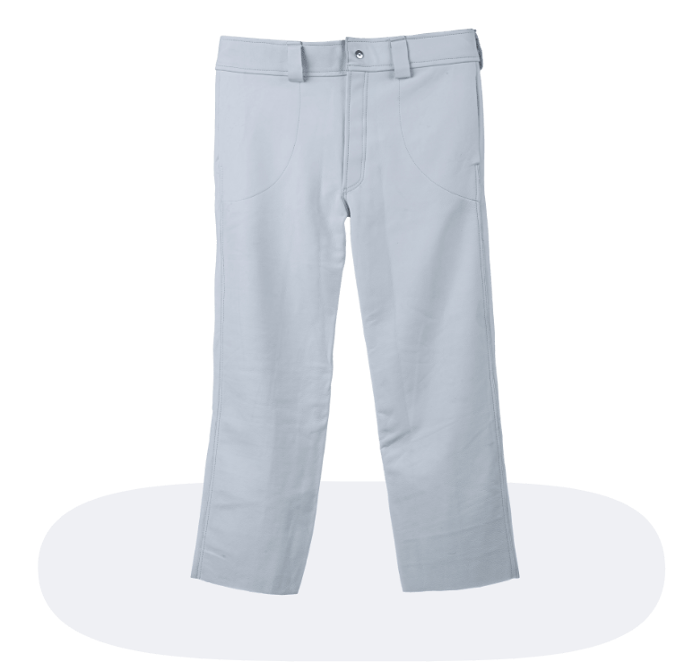 white safety pants