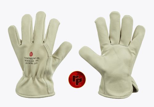 RPC013A1._WATER RESISTANT COLOURED CHROME DRIVING GLOVES