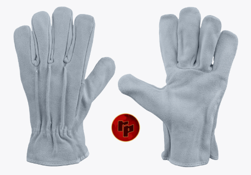 RPC014CLO_NATURAL SPLIT OUTSIDE CLUTE DRIVING GLOVES