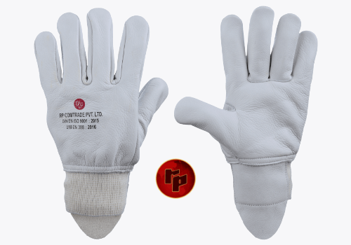 RPC021FWR._NATURAL CHROME DRIVING GLOVES_5 CM KNITTED CUFF – 1