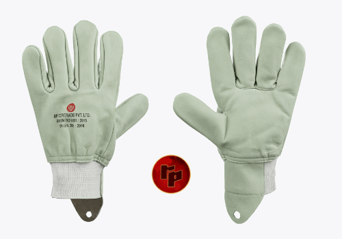 RPC021FW_COLOURED CHROME DRIVING GLOVES WITH KNITTED CUFF