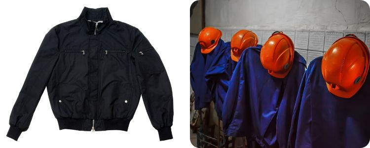safety jacket and trousers